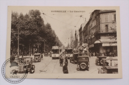 Postcard France -  Marseille - Promenade Du Prado - Trams And Old Horse Carriage - Castellane, Prado, Menpenti, Rouet