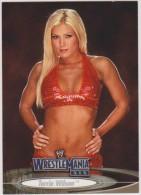WWE 2003 Fleer Card TORRIE WILSON Wrestling Divas Wrestlemania XIX - Trading Cards