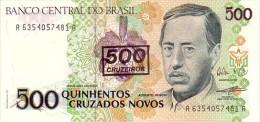 BRESIL   500 Cruzeiros/500 Cruzados Novos   Non Daté (1990)   Pick 226 B          ***** BILLET  NEUF ***** - Brésil