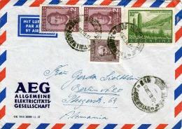 Argentinien 1959, 4 Fach Frankierung Auf FP-Brief Von Buenes Aires Nach Berlin - Argentinien