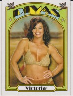 WWE 2006 Topps Card VICTORIA Wrestling Heritage Divas - Trading Cards