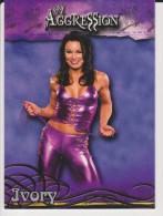 WWE 2003 Fleer Card IVORY Wrestling Divas Aggression - Trading Cards