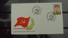 FDC Vietnam Viet Nam 2010 : 80th Anniversary Of Viet Nam Communist Party (Ms988) - Vietnam