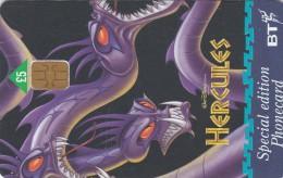 UK, BCC-121, Hercules (Hydra), Disney, 2 Scans.   Chip : GPT2 - United Kingdom