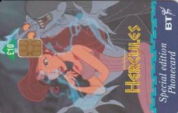 UK, BCC-122, Hercules (Hades & Megara), Disney, 2 Scans.   Chip : GPT2 - United Kingdom