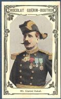 Chromo Chocolat Guerin-Boutron Livre D´or Célébrités Contemporaines 251 Général Dubail Belfort WW1 1870 - Guerin Boutron