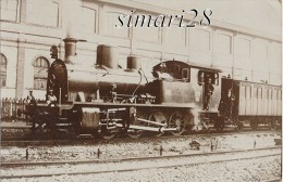 TRAIN - CARTE PHOTO - - Stations - Met Treinen