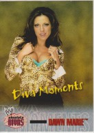 WWE 2002 Fleer Card DAWN MARIE Absolute Wrestling Divas Moments - Trading Cards