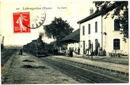 LABRUGUIERE -  La Gare, Vue Intérieure, Train - Labruguière