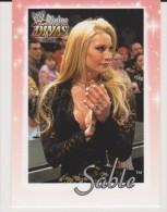 WWE 2003 Fleer Card SABLE Wrestling Divine Divas - Trading Cards