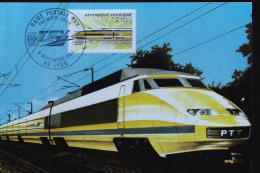 LOCOMOTIVE TGV - Treinen