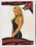 WWE 2004 Fleer Card SABLE Love Wrestling Divas - Trading Cards