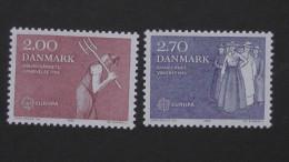 Denmark - 1982 - Mi.Nr. 749-50**MNH - Look Scan - Nuovi