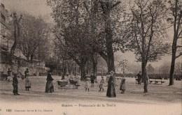 CPA Genève - Promenade De La Treille - Belle Animation - GE Geneva