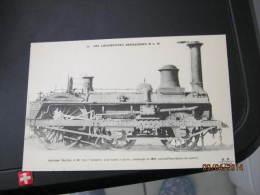 Train Les  Locomotives Francaises Plm - Eisenbahnen