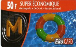 @+ TC Prépayée D´Outremer - DOM - EkoCard 50F - Antilles (Françaises)