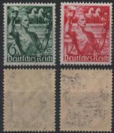 ALLEMAGNE DEUTSCHES III REICH 603 à 604 ** MNH Anniversaire Du Part Nazi : Sportif Et Torche 1 - Germany