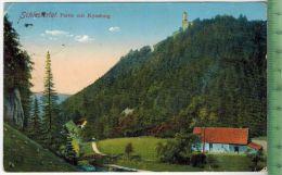 Schlesiertal, Partie Mit Kynsburg 1913 Verlag: Hermann Adam, Freiburg In Schles., FELD- POSTKARTE-ohne Frankatur. Mit St - Schlesien