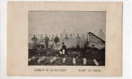 Kamp Bij Zeist. Gelopen Kaart 1901 - Zeist
