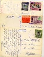 3 Cartes Postales   Téléphone  Prince   Cooperation - Jordanie