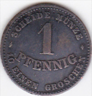 ETATS ALLEMAND / SAXE-COBURG-GOTHA. 1 PFENNIG 1868 B . - Monedas Pequeñas & Otras Subdivisiones