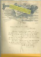 70 - Haute-saône - COUTHENANS - Facture DORMOY - Fabrique De Pièces Pour Filatures - 1906 - 1900 – 1949