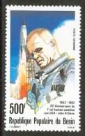 1982 Benin John H. Glenn Spazio Space Espace Set MNH** -Zz24 - Raumfahrt