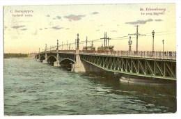 RUSSIA Saint PETERSBOURG Pont Troitsky - Rusland