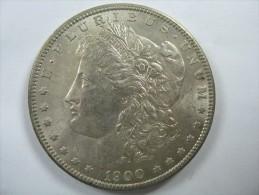 US USA 1 ONE DOLLAR MORGAN COIN SILVER 1900 - Émissions Fédérales