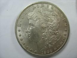 US USA 1 ONE DOLLAR MORGAN COIN SILVER 1899  O - Émissions Fédérales
