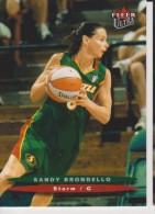 WNBA 2003 Fleer Card SANDY BRONDELLO Women Basketball SEATTLE STORM - Trading Cards