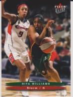 WNBA 2003 Fleer Card RITA WILLIAMS Women Basketball SEATTLE STORM - Trading Cards