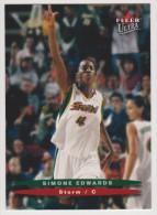 WNBA 2003 Fleer Card SIMONE EDWARDS Women Basketball SEATTLE STORM - Trading Cards