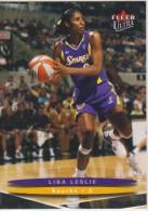 WNBA 2003 Fleer Card LISA LESLIE Women Basketball LOS ANGELES SPARKS - Trading Cards