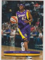 WNBA 2003 Fleer Card NIKKI TEASLEY Women Basketball LOS ANGELES SPARKS - Trading Cards