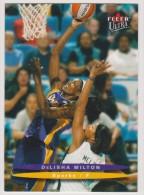WNBA 2003 Fleer Card DeLISHA MILTON Women Basketball LOS ANGELES SPARKS - Trading Cards