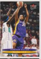 WNBA 2003 Fleer Card JENNIFER GILLOM Women Basketball LOS ANGELES SPARKS - Trading Cards