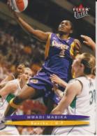 WNBA 2003 Fleer Card MWADI MABIKA Women Basketball LOS ANGELES SPARKS - Trading Cards