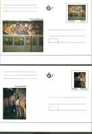 Carte Postales Spéciales BK  46/47 (Lot 414) - Entiers Postaux
