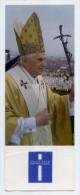 Marque-pages-----Télévision Catholique--Pape  Benoit XVI --Messe De Clôture Des JMJ De Cologne--21 Août 2005 - Bookmarks