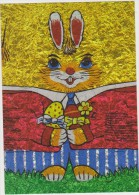 AKNL Nederland - The Netherlands - Pays Bas Easter Rabbit Card - Cristianismo