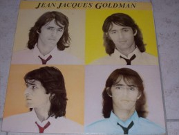 """LP - 33 Tours -  Jean-Jacques GOLDMAN """" Jean Jacques Goldman """" - Pressage Hollande 1981 - Zonder Classificatie"""