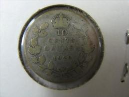 CANADA 10 CENTS 1929 SILVER - Canada