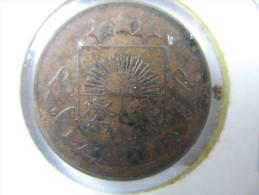 LATVIA 2 SANTIMI 1922 - Lettonie