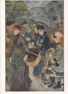 A. RENOIR: Les Parapluies [ Pluie ] AJ005 - Peintures & Tableaux