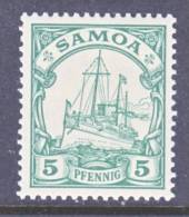 Samoa 58  * - Colony: Samoa