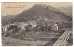 Cpa Du 04-DIGNE - Pont Sur La Bléone ( Série Fournier De Gap) - Digne