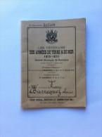 Les Vétérans Des Armées De Terre & De Mer 1870-1871 Société Nationales De Retraite - Documents