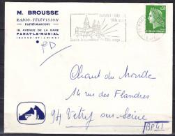 PARAY-LE-MONIAL  S Et L   Lettre Entete PUBLICITAIRE  Le 11 3 1970  Cachet SECAP  Pour 94 VITRY Sur SEINE - Marcophilie (Lettres)