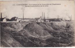 COMMENTRY  - Les Usines Et La Tranchée De L'espérance Apres L'exploitation De La Mine - Commentry